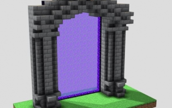 Nether Portal SCHEMATIC