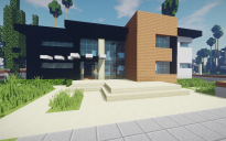Modern House #17 + Schematics