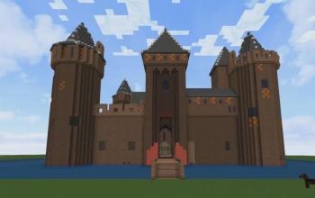 minecraft castle ideas easy