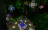 Wooded Teleporter Spawn Area