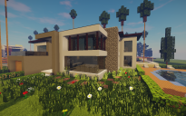 Modern House #19 + Schematics