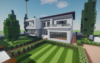 Modern House #20 + Schematics