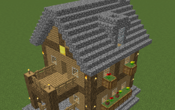 2 Story House [With Balcony And Attic, And Secret Loot!]