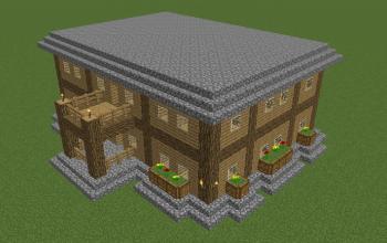 2-Story Survival Mansion [Survival-Compatible!]
