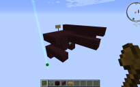 Default Nether Fortress Bridge End