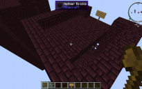 Default Nether Fortress Bridge Stairs