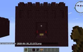 Default Nether Fortress Nether Wart Farm