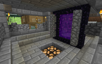 Brick-Locked Nether Portal