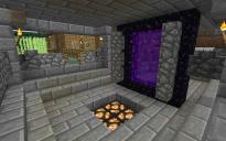 Brick-Locked Nether Portal