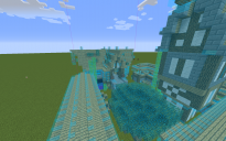 Tour avec maison et muraille medivale