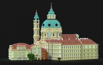 The Church of Saint Nicholas Lesser Town of Prague