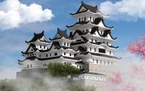 Japanese castle - Himeji