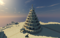 desert temple god