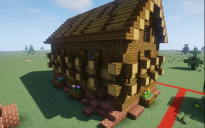 Middle Ages style house