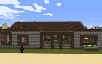 Large Ranch Minimalist Survival Home