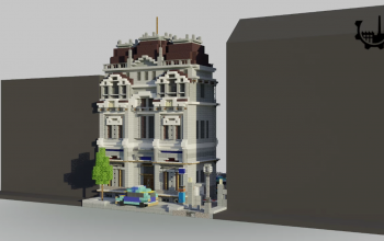 Police Station | Minecraft Town House