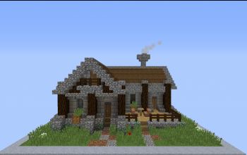 Survival Starter House + Interior