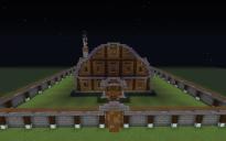 fir wood mansion