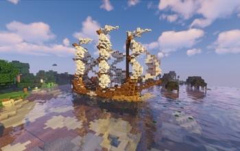 Medieval ship