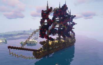 Ghost ship 1.12.2 (Map + Sheme)