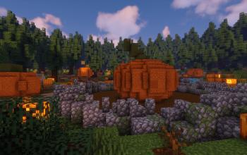 The Great Pumpkin TNT Run Map