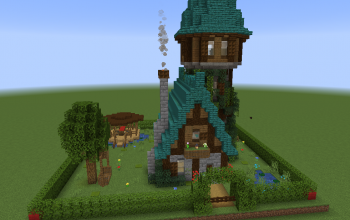 medieval fantasy house