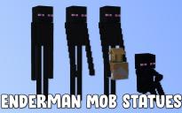 Enderman Mob Statues