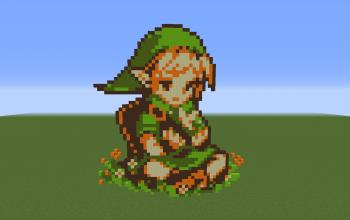 Link Pixel Art