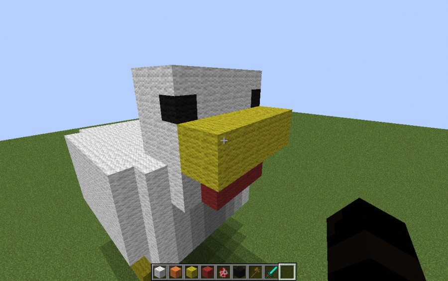 Pixel Art Minecraft Chicken Koolgadgetz