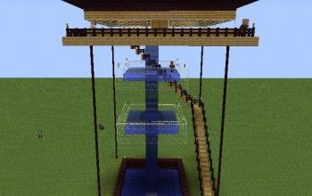 Multi-tier Pool House