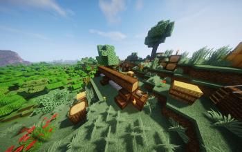 Medieval Pile of Wood