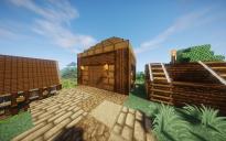 Medieval Wood Hut