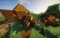 Medieval Pile of Wood 2