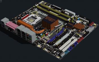 Intel P5W64 WS Professional (ASUS WS Series)
