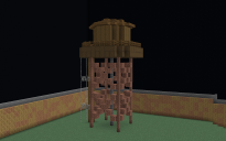 Old Rustic Water Tower