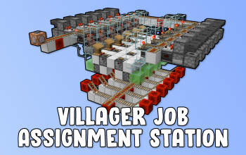Villager Job Assignment Station