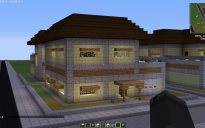 End Stone Brick House (with mods)