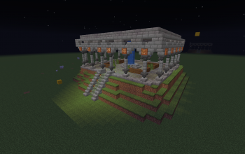 Peaceful temple
