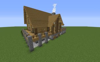 The original Minecraft house