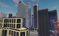 Minecraft Map - Los Angeles City (trailer)