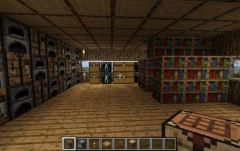improved log house