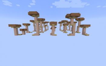 Big mushrooms (10 Variations)
