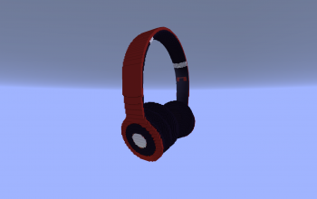 Red headphones 1.16.4