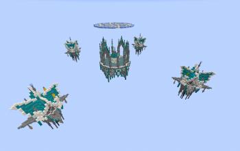 Heavens 4x4 bedwars map (schematic version)