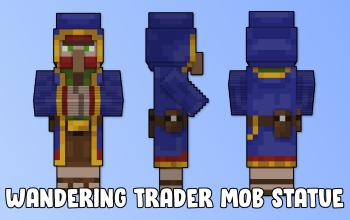 Wandering Trader Mob Statue