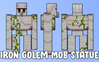 Iron Golem Mob Statue