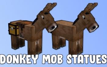 Donkey Mob Statues