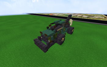 Skidder in minecraft