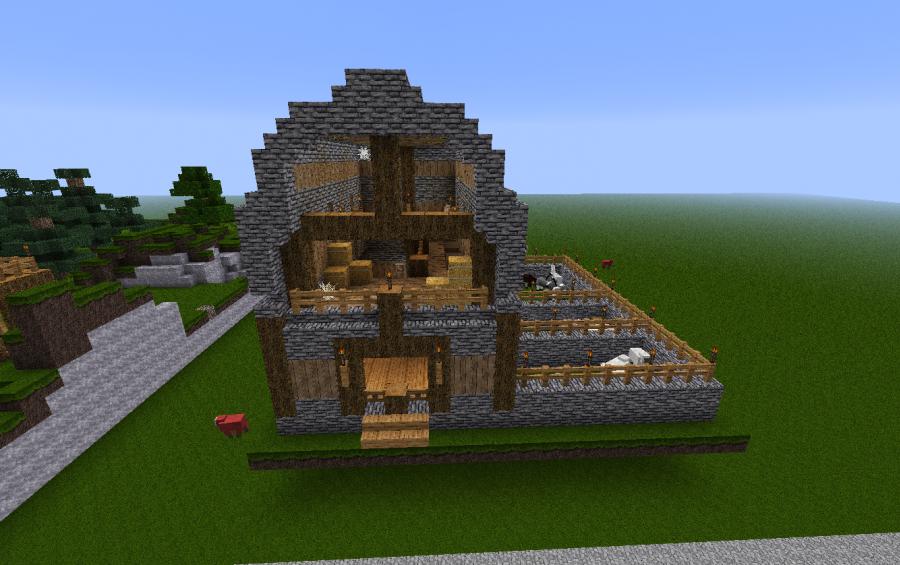 3 stall barn creation 1587