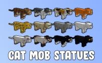 Cat Mob Statues